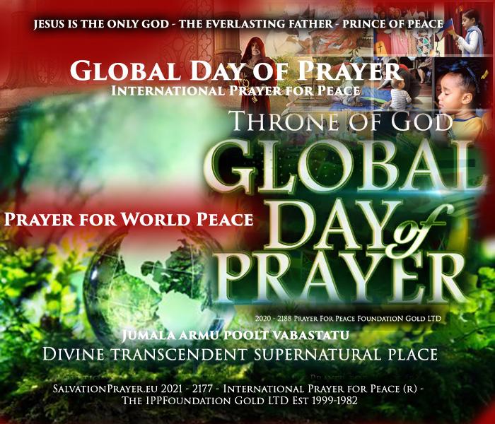 Global Day of Prayer International Prayer for Peace Prayer for World Peace Jumala armu poolt vabastatud arm ja rahu maailmne Palve Rahu eest 2020 Anglikaani vaatenurk