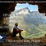 The Necessity of Peace of the Soul in Today's 2021 – Control of the Spirit and the Word of God