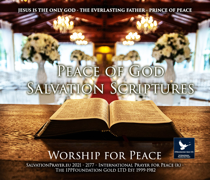 peace of God Salvation Scriptures
